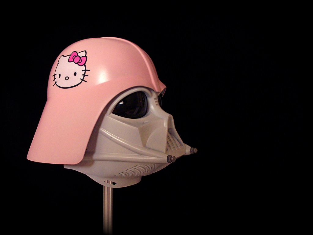 Hello Kitty Darth Vadar